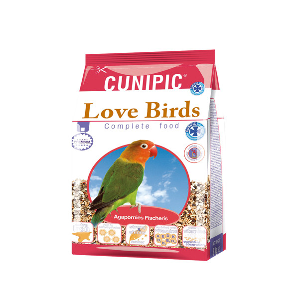 CUNIPIC ALIMENTO AGAPORNIS 650 GR
